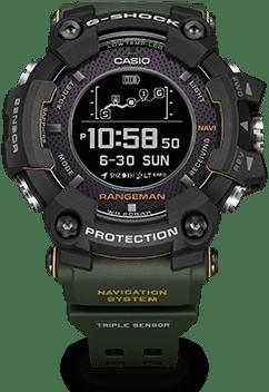 Casio G-Shock GPR P1000 Rangeman rugged smartwatch
