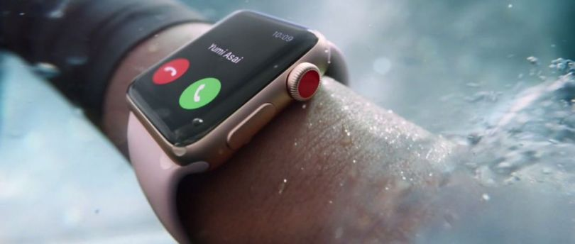 Apple Watch Series 3 waterproof smartwatch