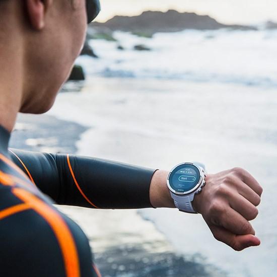 Suunto 9 water resistant smartwatch for outdoor activities