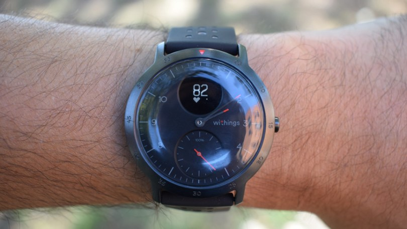 Withings Steel HR Sport hybrid smartwatch with GPS hands on review