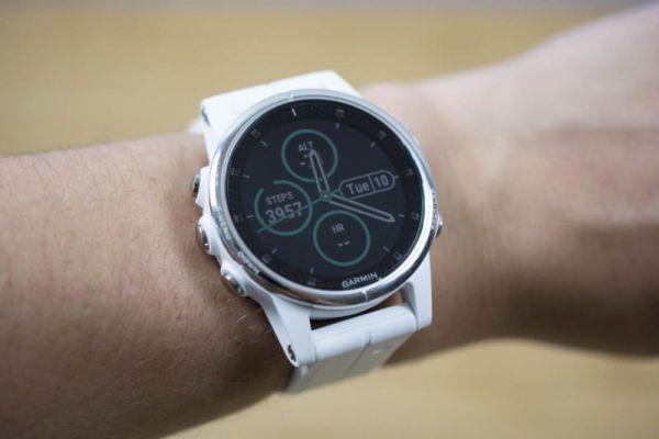 Garmin Fenix 5S Plus smartwatch
