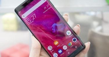 Sony Xperia XZ3 hands on