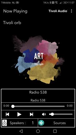 Tivoli Audio Art Orb Screenshot