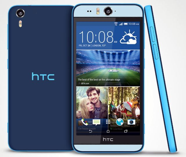 HTC Desire eye comes with 13MP front and rear camera