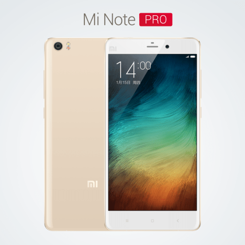 Xiaomi Mi Note Pro Specifications and price details