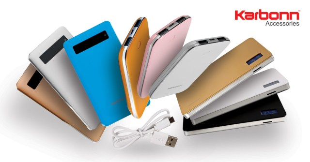 Karbonn Power Banks and ScreenGuards are launched by the company