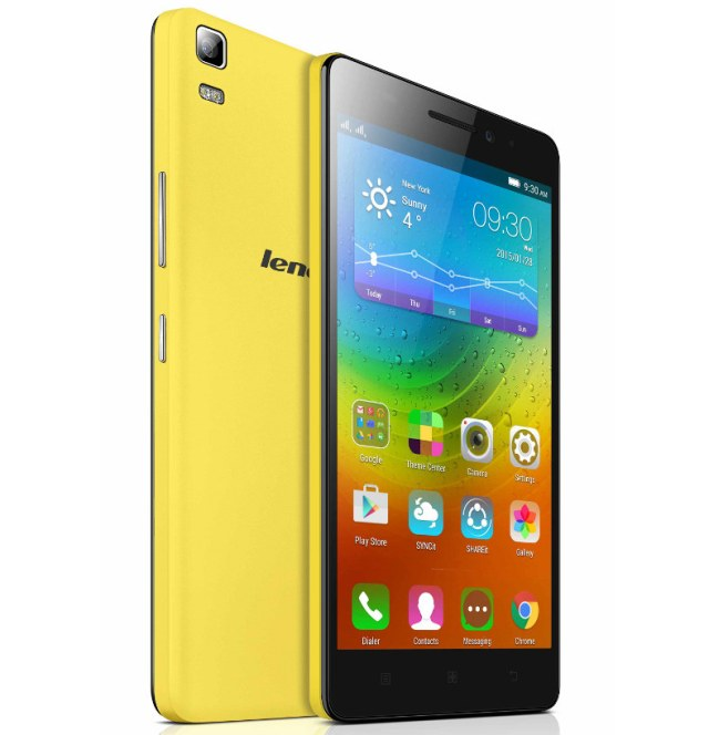 Lenovo A7000 Specifications, price and launch details
