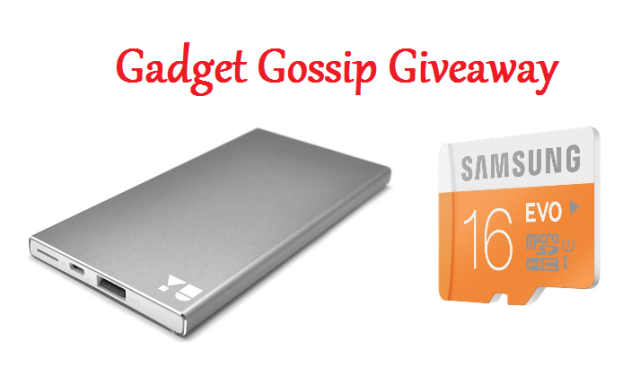 Gadget Gossip Giveaway #1 Enter Now!
