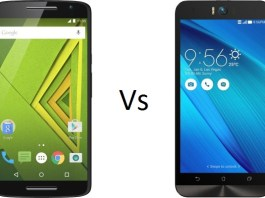 Moto X Play Vs Asus Zenfone Selfie 3GB RAM comparison