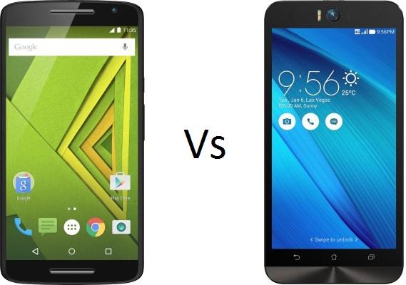 Moto X Play Vs Asus Zenfone Selfie 3GB RAM comparison