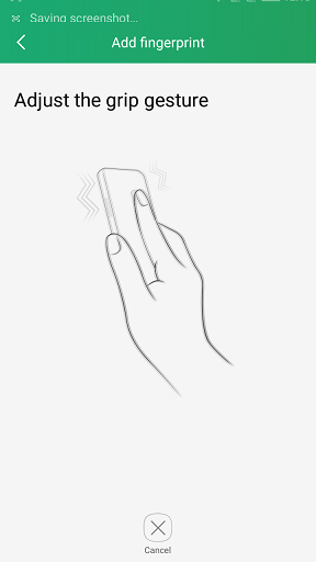How to setup Fingerprint scanner in Coolpad Note 3
