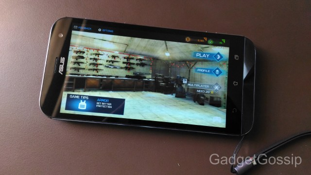 Asus Zenfone Zoom Review - Gaming performance