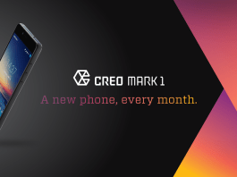 "CREO Mark 1 : ""A New Phone Every Month!"""