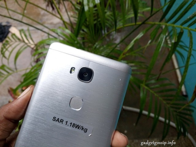 Honor 5X review - Fingerprint Scanner