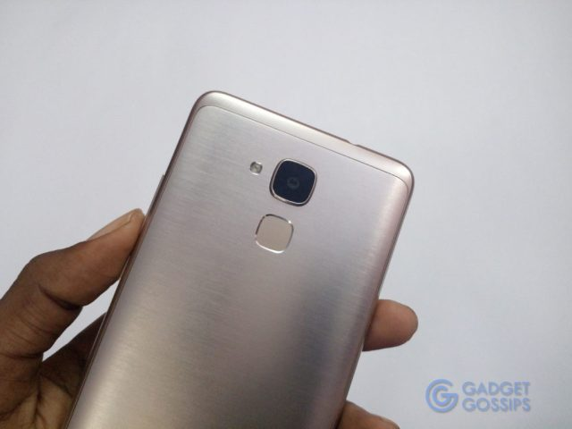 Honor 5C review - FINGERPRINT SCANNER
