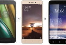 Moto E3 Power Vs Redmi 3S Vs Coolpad Note 3 Lite comparison
