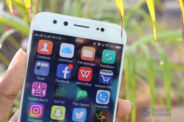 Vivo V5 Plus review - Display