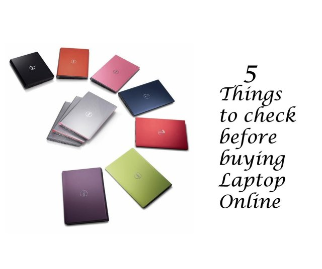 5 things to check before buying a Laptop online