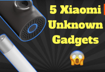 5 unique Xiaomi gadgets that you don't know [2018]