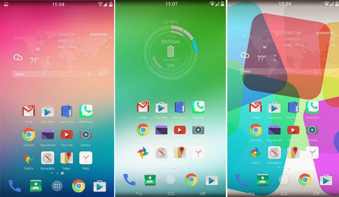 Android Features by Version, Lollipop android Features, Features of Android Lollipop;,
