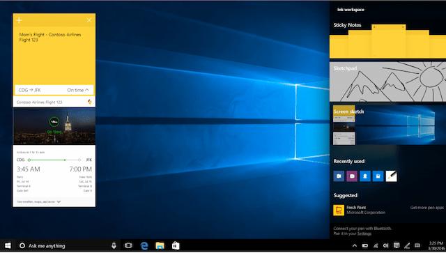 Windows-Ink-Update, WIndows 10 Anniversary