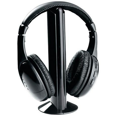 5 In 1 Wireless Headphones With Fm Radio