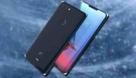 ZTE filed a patent copyright for dual notch smartphone.