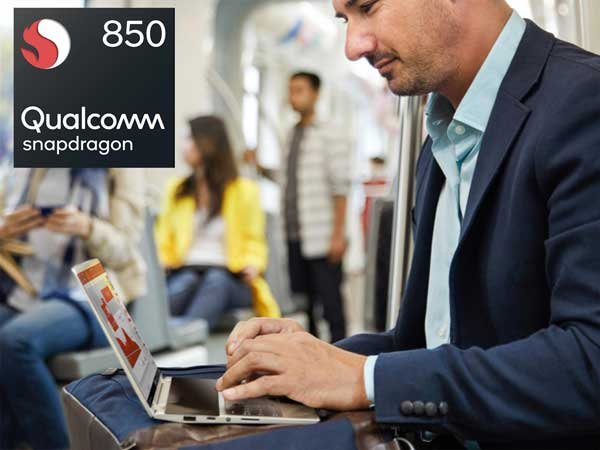 Though the hardware named as Snapdragon 850 internally, it is referred as 'Snapdragon 845s'.