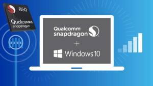 Qualcomm announced the Snapdragon 850 Mobile Compute Platform for Windows 10 PCs.