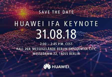 Huawei Kirin 980 chip will launch on August 31 at IFA 2018