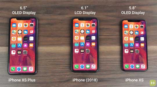 Apple iPhone XS, iPhone XS Plus, and iPhone 2018 edition video leaked online
