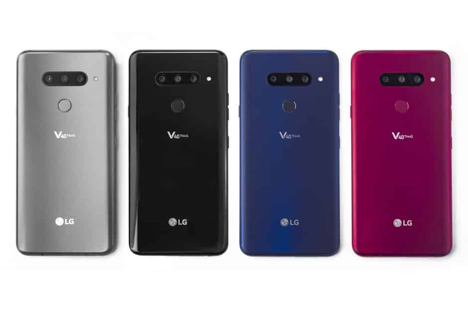 LG V40 ThinQ launched with five cameras, 6.4-inch OLED notch display, Snapdragon 845