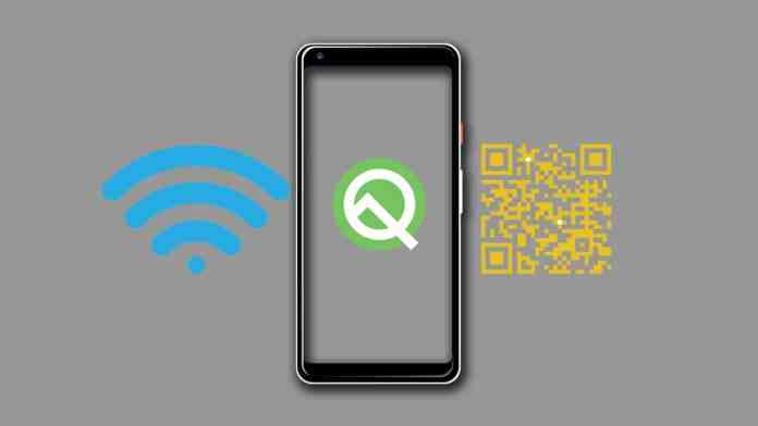 Share Wi-Fi Password in Android Q with a QR Code
