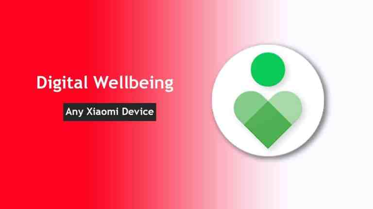 How to use Digital Wellbeing app on Xiaomi/Redmi devices [Android 9 Pie]