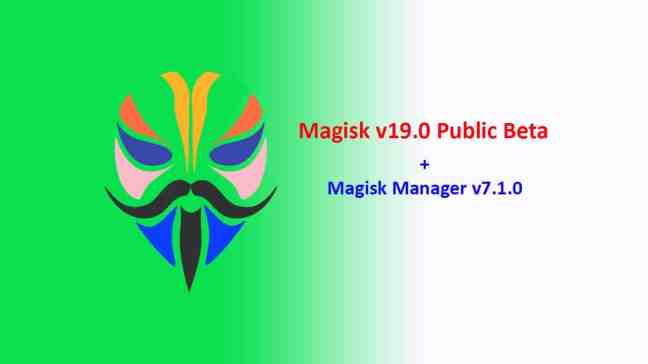 Magisk v19.0 Public Beta Announced: An Imageless Magisk