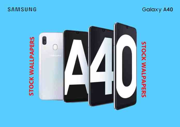 Samsung Galaxy A40 Stock Wallpapers [Download]