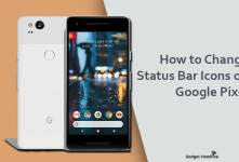 Steps to Change the Status Bar Icons on Google Pixel