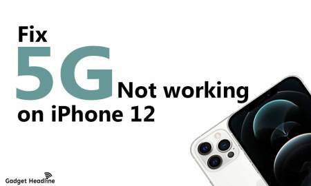 How to Fix 5G not working on iPhone 12
