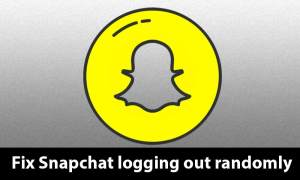 Fix Snapchat logging out randomly