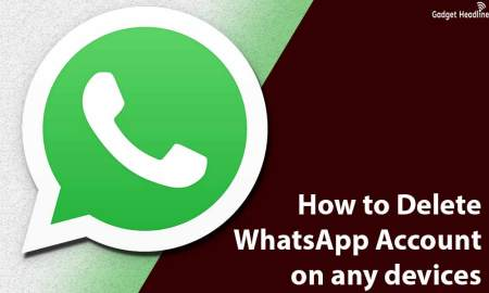How to Delete WhatsApp Account on any devices