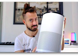 Proscenic A8 purificatore aria smart google home alexa - recensione review   GadgetLand.it