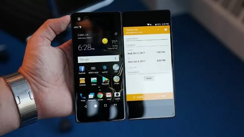 ZTE Axon M is a crazy Dual-Screen Foldable Smartphone