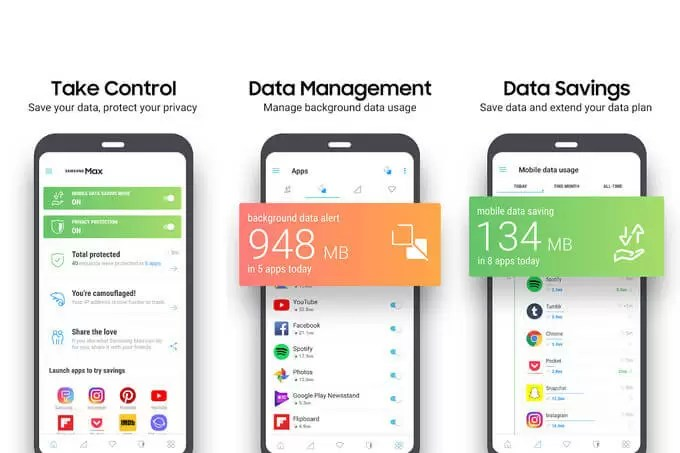 New Samsung Max app let you saves your data, protects your privacy