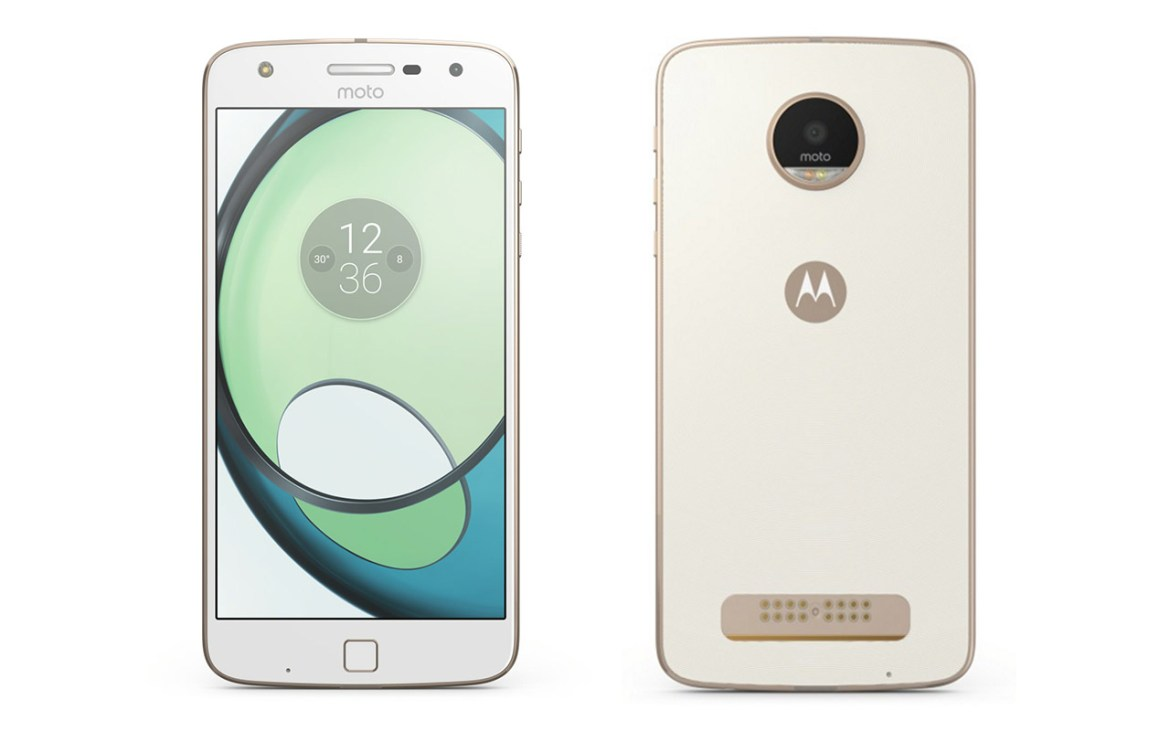 Moto Z Play front and back