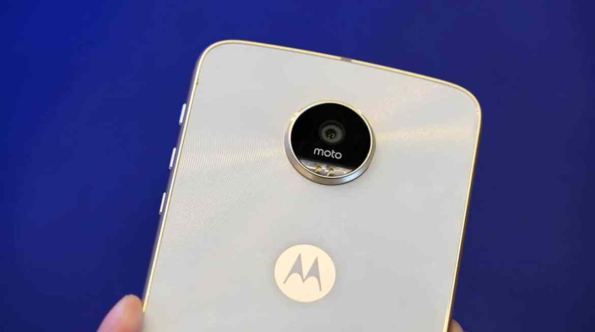 Moto Z Play back