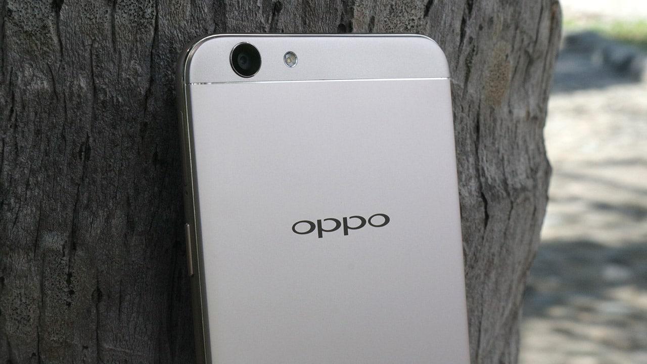 OPPO F1s rear camera