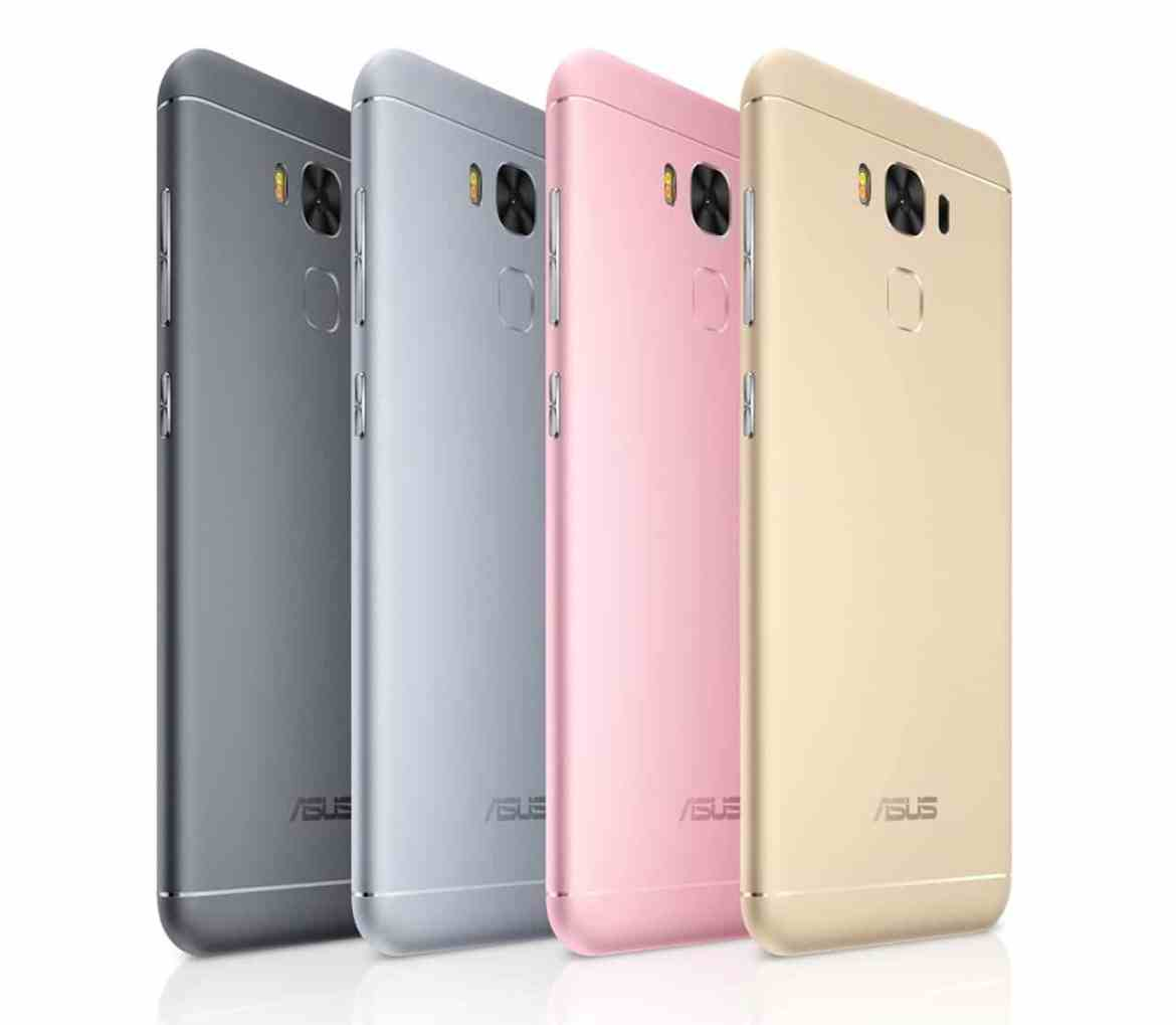ASUS ZenFone 3 Max 5.5 colors