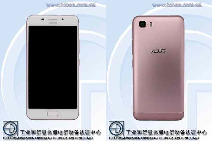 ASUS X00GD front and back