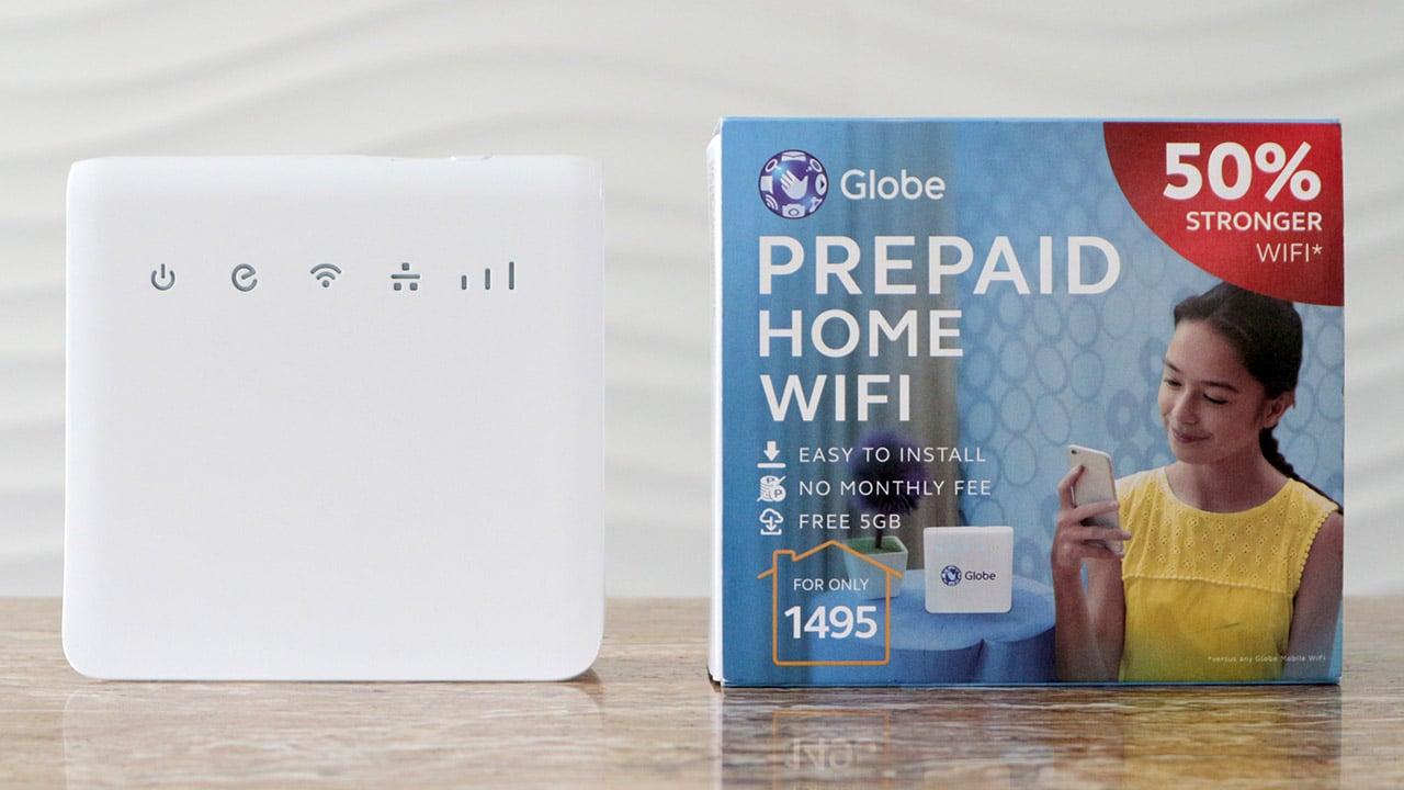 Globe Prepaid Home WiFi