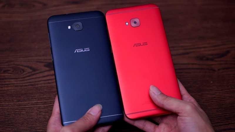 ASUS ZenFone 4 Selfie left; ASUS ZenFone 4 Selfie Pro right